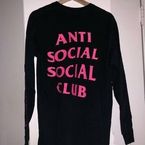 7394b77dcfd2 Anti Social Social Club Shirts - ASSC Long sleeve Size M